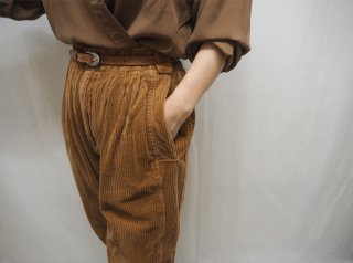 80-90s Brown Corduroy Pants