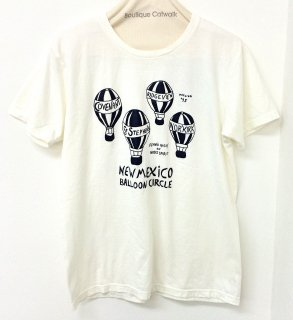 FUNG (ファング) / SHORT SLEEVE PRINT TEE (Balloon) / プリントT / 半袖T / 春夏 / ユニセックス