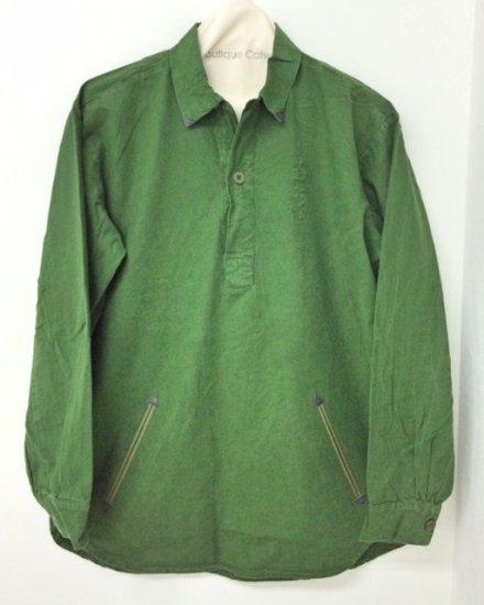 Nasngwam (ナスングワム) / SWEDE SHIRTS / RS2727105 / ミリタリーシャツ / リメイク / USED / メンズ