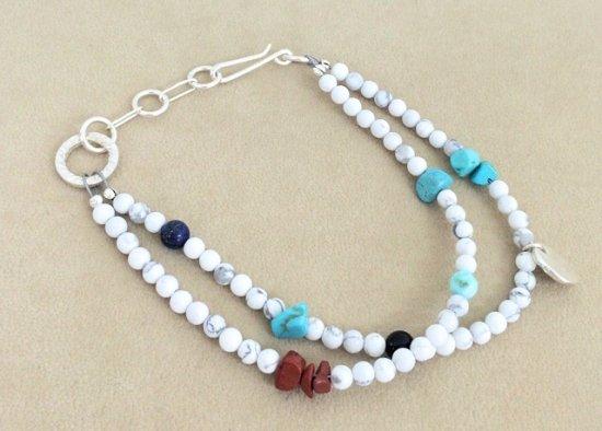 Tsunai Haiya (ツナイハイヤ) / Colorfield Beads Anklet  / インディアンジュエリー / デザイナー / アーティスト / アンクレット / 雑貨 / グ…