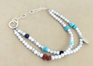 Tsunai Haiya (ツナイハイヤ) / Colorfield Beads Anklet  / インディアンジュエリー / デザイナー / アーティスト / アンクレット / 雑貨 / グッズ