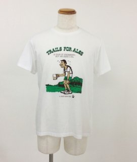 TACOMA FUJI (タコマフジ) / TRAILS FOR ALES by GOOD BEER TAPS / Tシャツ / プリントT / アート / メンズ