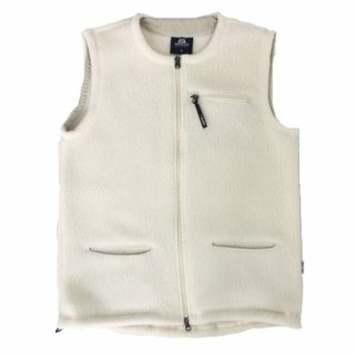Mountain Equipment (マウンテンイクイップメント) / Pile Fleece Vest / オフホワイト / フリースベスト / アウトドア / カナダ / メンズ