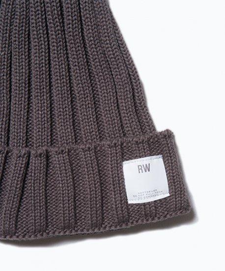 ROTTWEILER ロットワイラー / キャップ BASIC KNIT CAP【GRAY】
