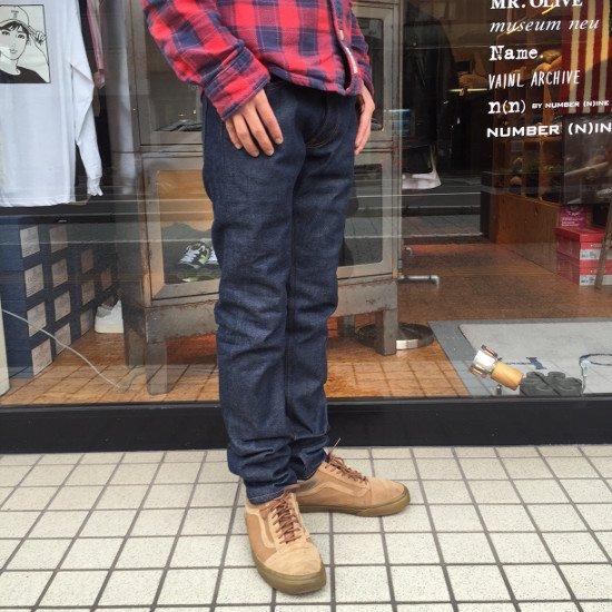 ROTTWEILER ロットワイラー / パンツ BASIC DENIM PANTS  【INDIGO】