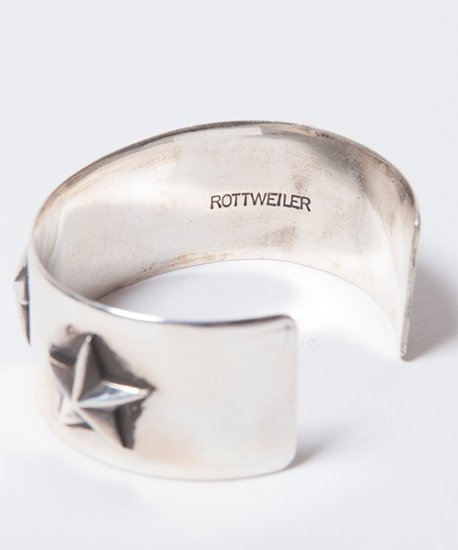 ROTTWEILER ロットワイラー / バングル FANTASTIC MAN SILVER STAR BANGLE