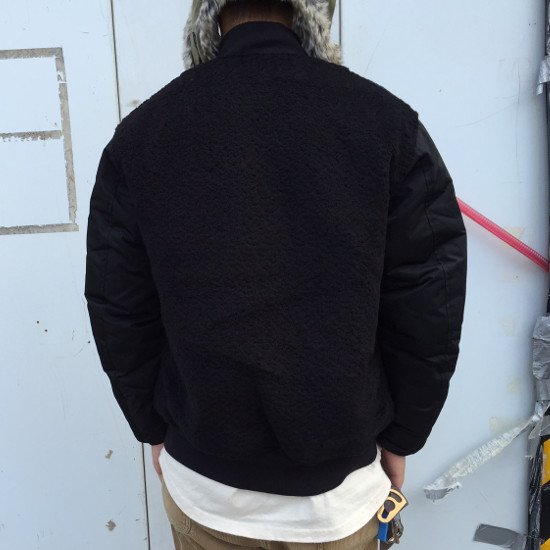 ROTTWEILER ロットワイラー / ジャケット BN / MA-1 【BLACK】