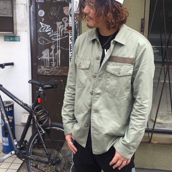 ROTTWEILER ロットワイラー / シャツ UTILITY SHIRTS  【OLIVE】