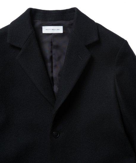 ROTTWEILER ロットワイラー / コート CHESTER FIELD COAT  【BLACK】