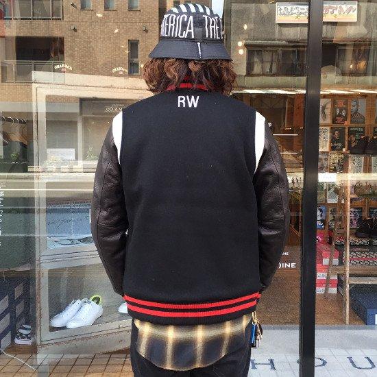 ROTTWEILER ロットワイラー / ジャケット STADIUM JACKET 【BLACK】