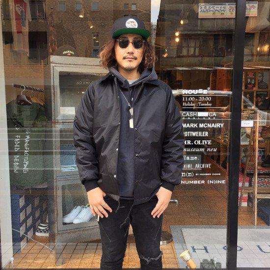 ROTTWEILER ロットワイラー / ジャケット COACHES WINDBREAKER  【BLACK】
