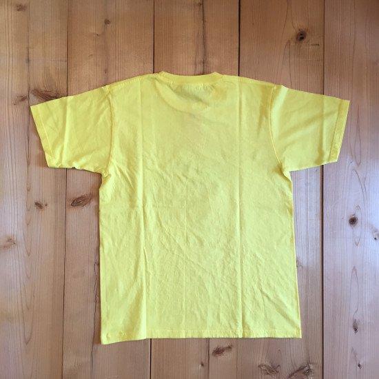 <img class='new_mark_img1' src='https://img.shop-pro.jp/img/new/icons3.gif' style='border:none;display:inline;margin:0px;padding:0px;width:auto;' />Black weirdos  ブラック ウィドー / Tシャツ MASS AGE TEE 【YELLOW】