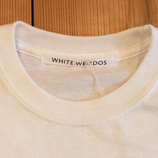 <img class='new_mark_img1' src='https://img.shop-pro.jp/img/new/icons3.gif' style='border:none;display:inline;margin:0px;padding:0px;width:auto;' />Black weirdos  ブラック ウィドー / ロングTシャツ FLARE POCKET LONG TEE 【WHITE】