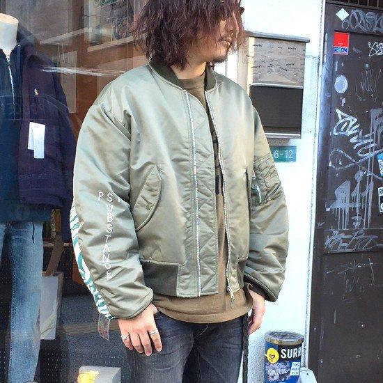 <img class='new_mark_img1' src='https://img.shop-pro.jp/img/new/icons3.gif' style='border:none;display:inline;margin:0px;padding:0px;width:auto;' />Black weirdos  ブラック ウィドー / ジャケット MA-1 jacket 【OLIVE】
