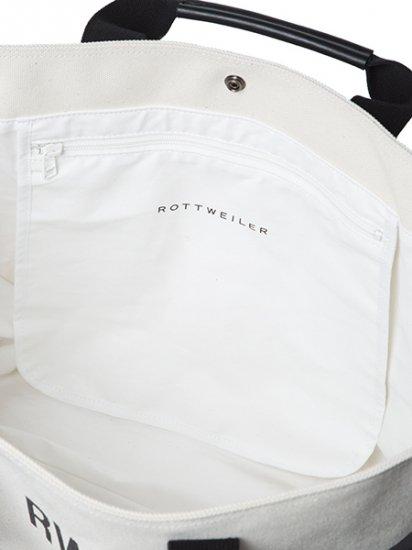 【8月入荷予定】ROTTWEILER ロットワイラー / バッグ CANVAS TOTE BAG LARGE