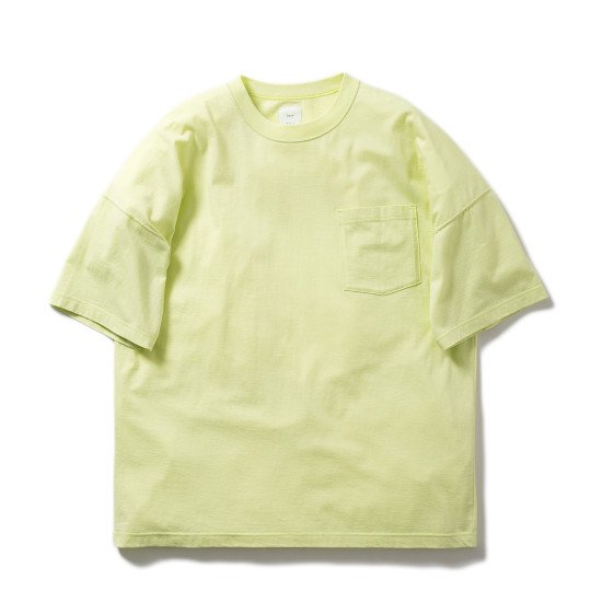 <img class='new_mark_img1' src='https://img.shop-pro.jp/img/new/icons3.gif' style='border:none;display:inline;margin:0px;padding:0px;width:auto;' />Name.  ネーム / Tシャツ ×LEVI PATA x MAI KISE PRINTED TEE 【LIME】
