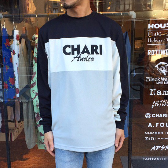 <img class='new_mark_img1' src='https://img.shop-pro.jp/img/new/icons3.gif' style='border:none;display:inline;margin:0px;padding:0px;width:auto;' />CHARI&CO. ロングTシャツ / チャリ アンド コー MOTO L/S TEE 【MONOCHROME】