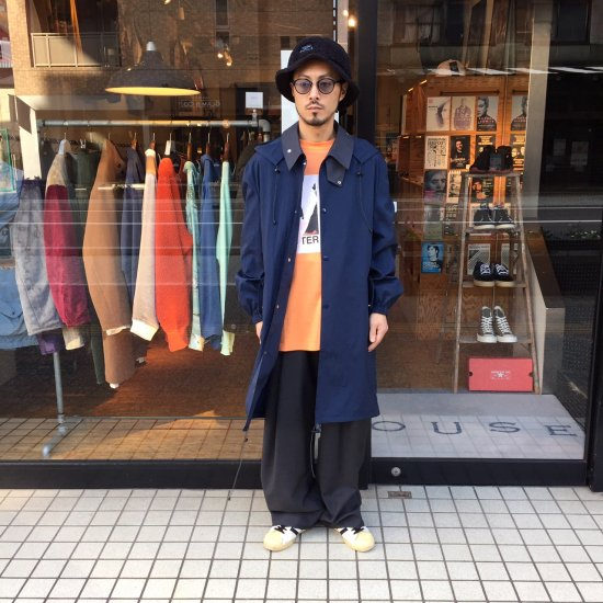 <img class='new_mark_img1' src='https://img.shop-pro.jp/img/new/icons24.gif' style='border:none;display:inline;margin:0px;padding:0px;width:auto;' />【SALE / 30%OFF】Name.  ネーム / コート BACK PATCHED NYLON HOODED COAT