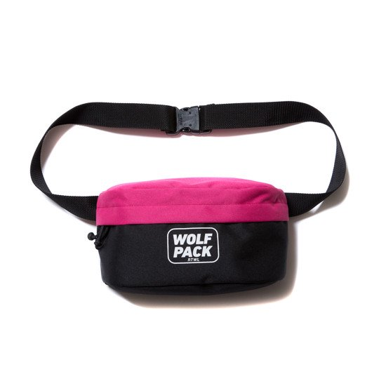 ROTTWEILER ロットワイラー / バッグ PACK WEST BAG 【PINK】