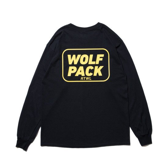 <img class='new_mark_img1' src='https://img.shop-pro.jp/img/new/icons24.gif' style='border:none;display:inline;margin:0px;padding:0px;width:auto;' />【SALE / 20%OFF】ROTTWEILER ロットワイラー / ロングTシャツ WOLFPACK LS TEE 【BLACK】