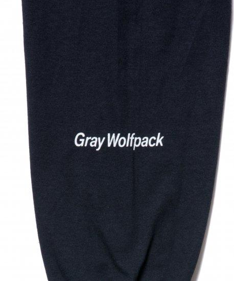 【7月末入荷予定】ROTTWEILER ロットワイラー / ロングTシャツ  BOX WOLFPACK LS TEE 【BLACK】