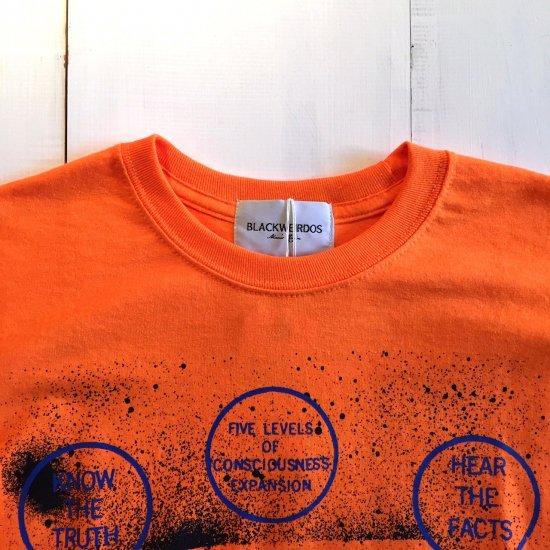 <img class='new_mark_img1' src='https://img.shop-pro.jp/img/new/icons3.gif' style='border:none;display:inline;margin:0px;padding:0px;width:auto;' />Black weirdos  ブラック ウィドー / ロングTシャツ SLACK L/S Tee 【ORANGE】