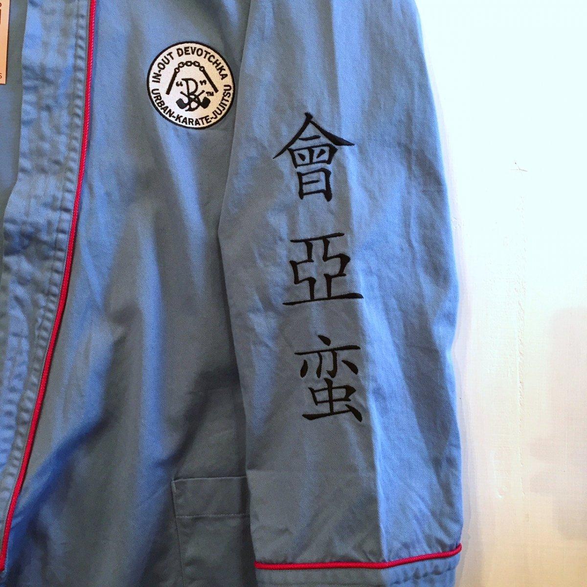 <img class='new_mark_img1' src='https://img.shop-pro.jp/img/new/icons3.gif' style='border:none;display:inline;margin:0px;padding:0px;width:auto;' />Black weirdos  ブラック ウィドー / ジャケット DO-GI (Martial Arts Uniform) Shirt 【SAX】