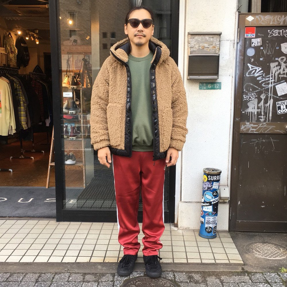 <img class='new_mark_img1' src='https://img.shop-pro.jp/img/new/icons3.gif' style='border:none;display:inline;margin:0px;padding:0px;width:auto;' />CHARI & CO. チャリ アンド コー / ジャケット PIKE SLIP BOA FLEECE JKT 【BEIGE】