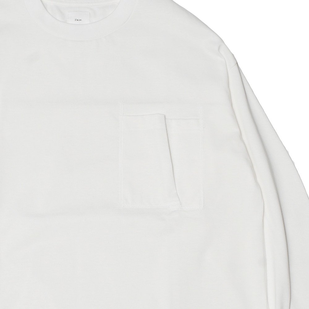 <img class='new_mark_img1' src='https://img.shop-pro.jp/img/new/icons3.gif' style='border:none;display:inline;margin:0px;padding:0px;width:auto;' />Name.  ネーム / ロングTシャツ LONG SLEEVE TEE 【WHITE】