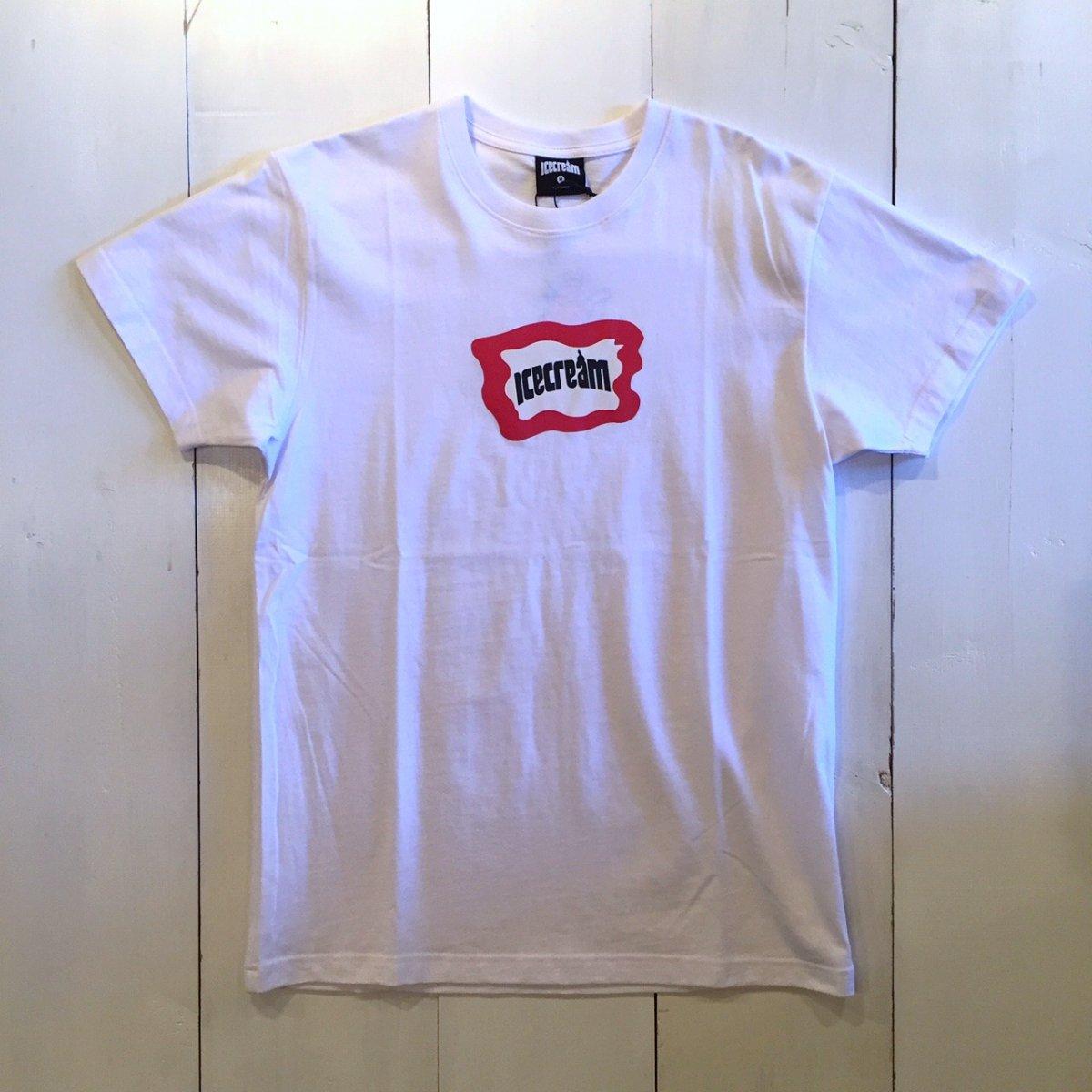 <img class='new_mark_img1' src='https://img.shop-pro.jp/img/new/icons3.gif' style='border:none;display:inline;margin:0px;padding:0px;width:auto;' />ICE CREAM アイスクリーム / Tシャツ MALTO T-SHIRTS 【WHITE】