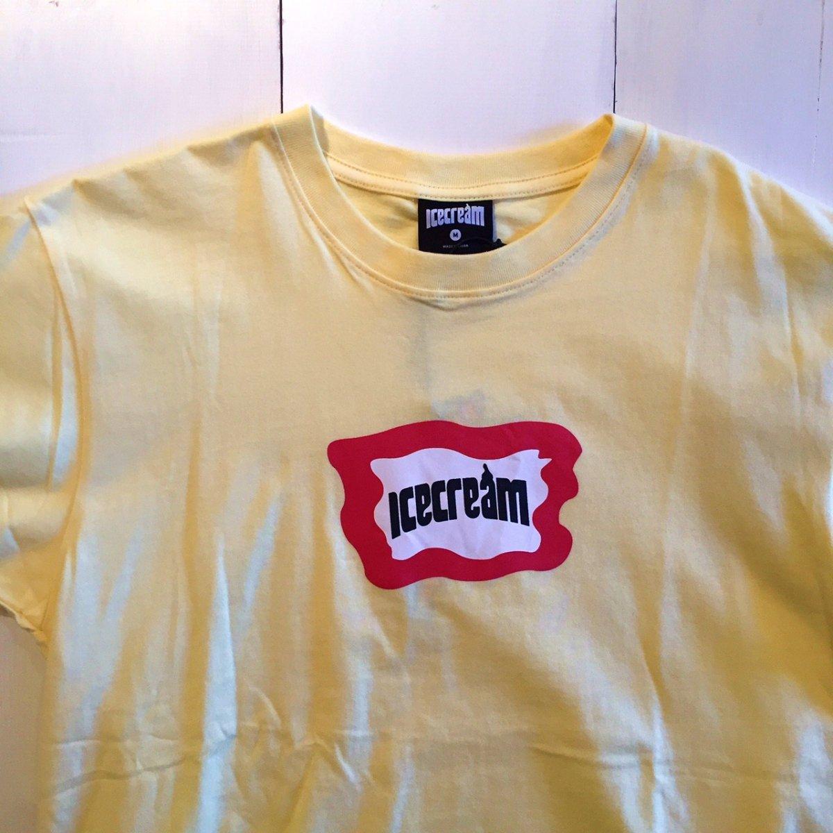 <img class='new_mark_img1' src='https://img.shop-pro.jp/img/new/icons3.gif' style='border:none;display:inline;margin:0px;padding:0px;width:auto;' />ICE CREAM アイスクリーム / Tシャツ MALTO T-SHIRTS 【YELLOW】