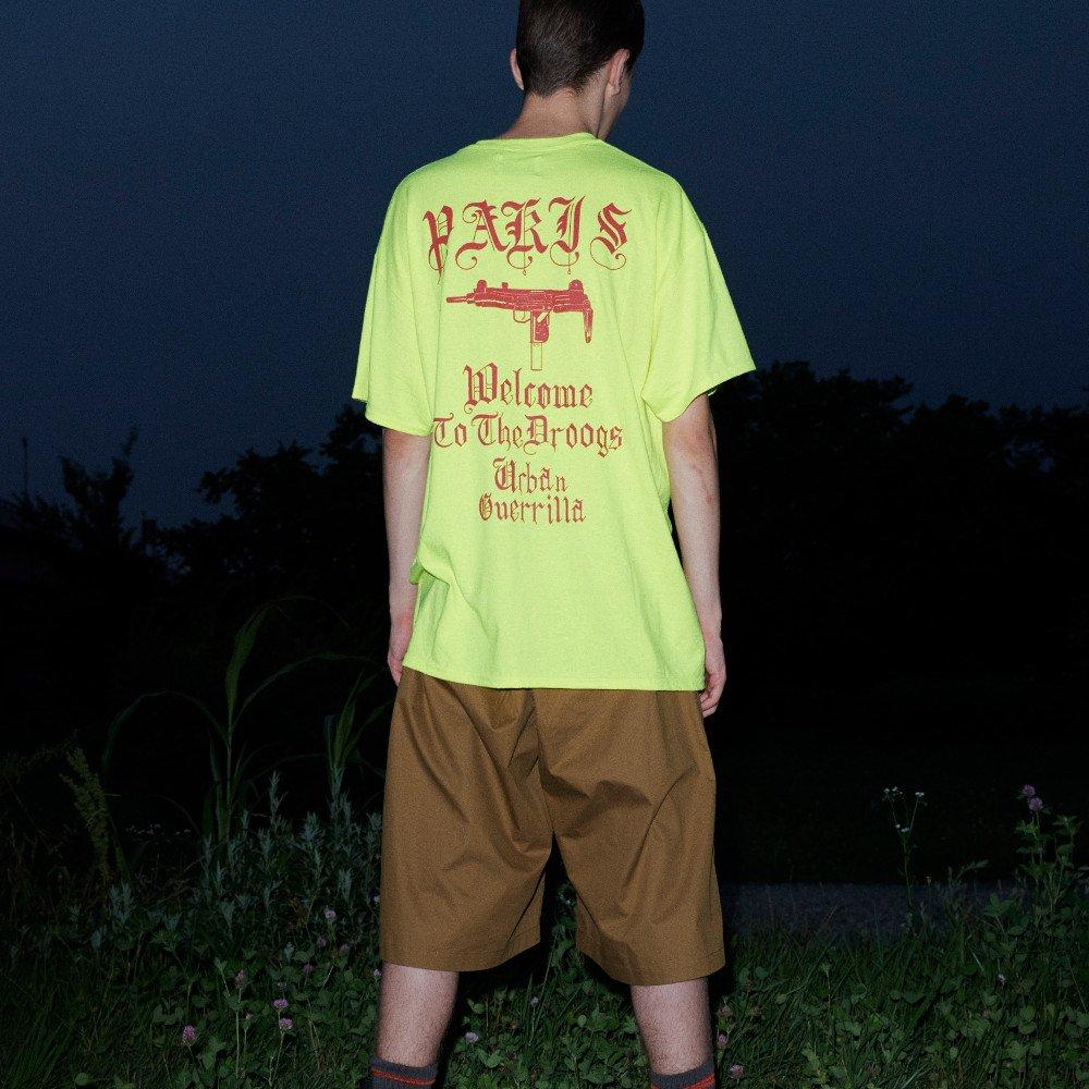 <img class='new_mark_img1' src='https://img.shop-pro.jp/img/new/icons3.gif' style='border:none;display:inline;margin:0px;padding:0px;width:auto;' />Black Weirdos  ブラック ウィドー / Tシャツ PARIS Pocket Tee 【SAFTIY GREEN】