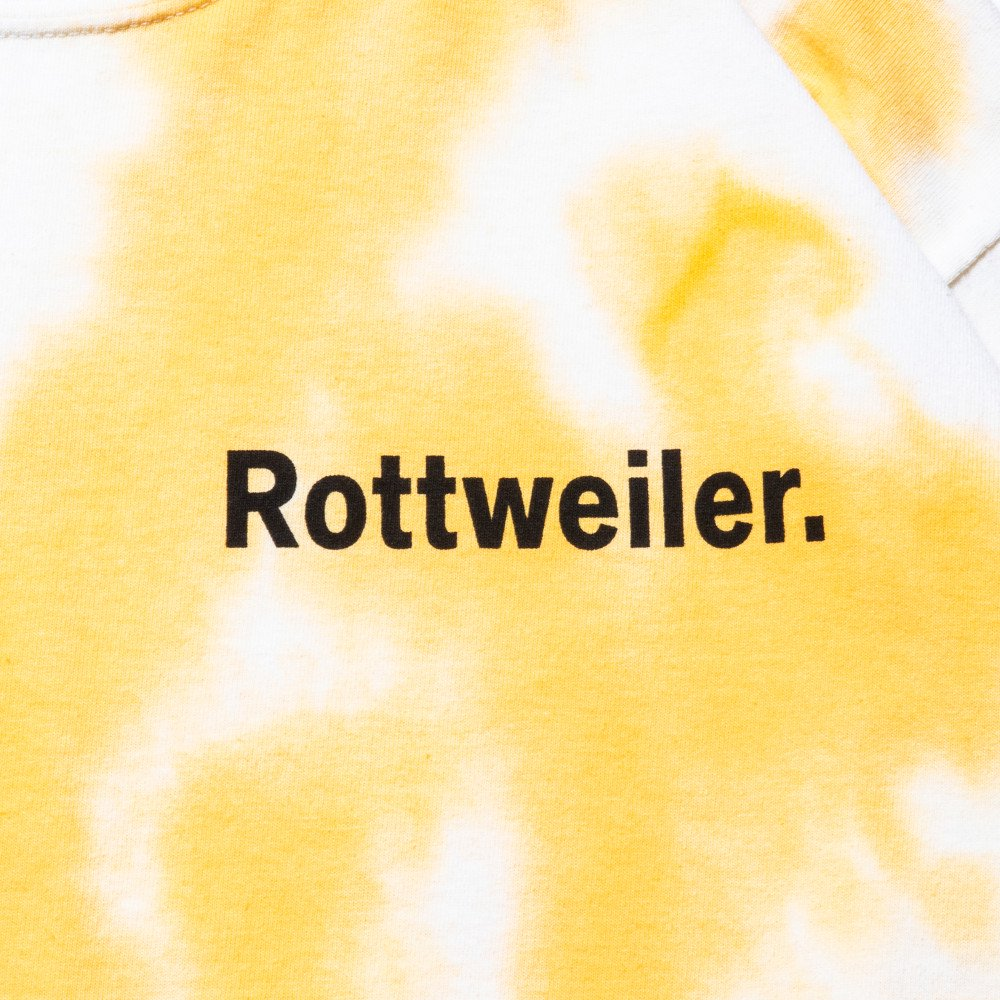 <img class='new_mark_img1' src='https://img.shop-pro.jp/img/new/icons24.gif' style='border:none;display:inline;margin:0px;padding:0px;width:auto;' />【SALE / 30%OFF】ROTTWEILER ロットワイラー / ロングTシャツ  DYED LS TEE 【YELLOW】