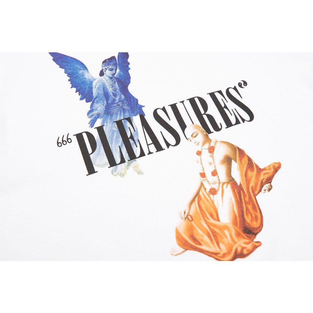 <img class='new_mark_img1' src='//img.shop-pro.jp/img/new/icons3.gif' style='border:none;display:inline;margin:0px;padding:0px;width:auto;' />PLEASURES プレジャーズ / Tシャツ RETURN LS T-SHIRTS 【CREAM】