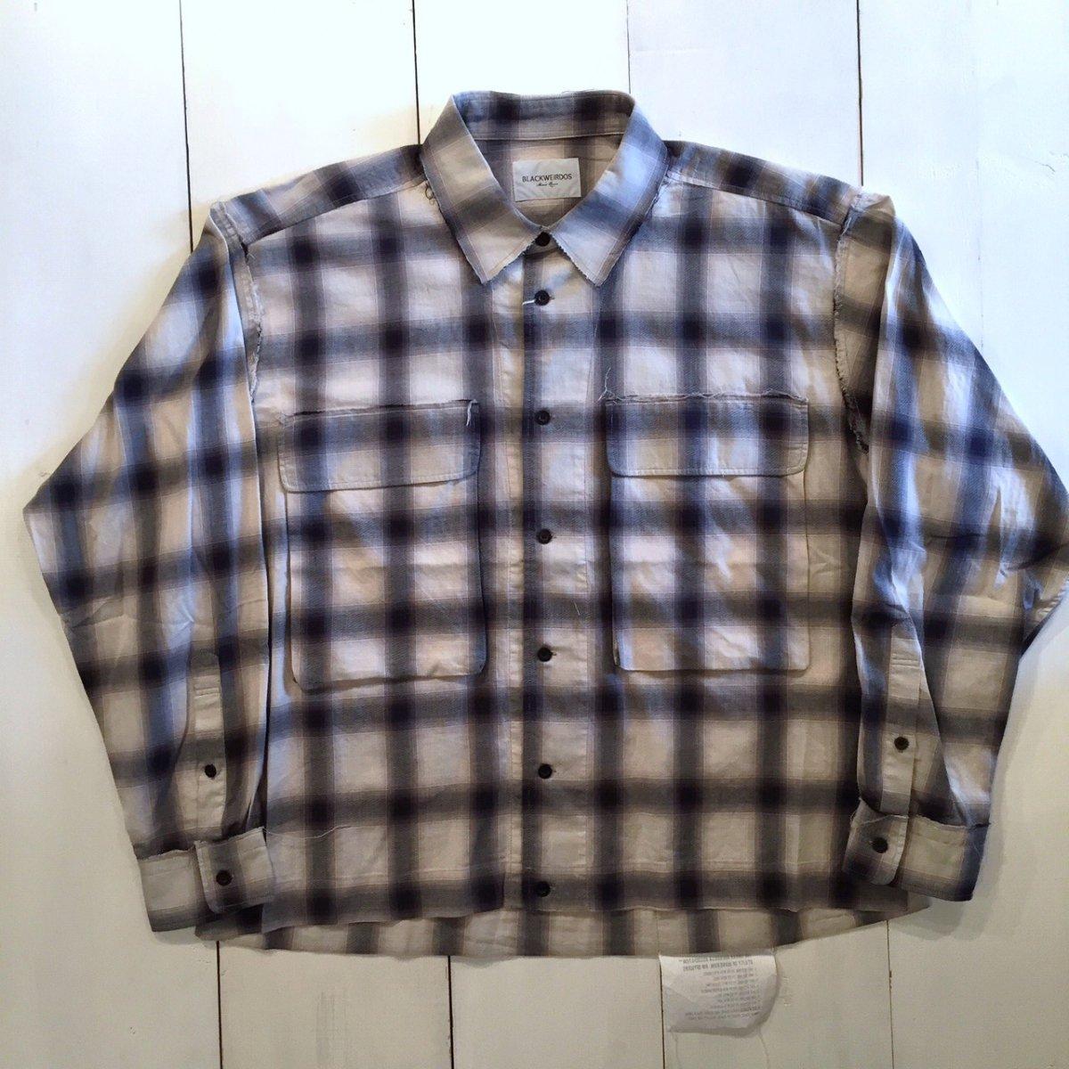 <img class='new_mark_img1' src='https://img.shop-pro.jp/img/new/icons3.gif' style='border:none;display:inline;margin:0px;padding:0px;width:auto;' />Black weirdos  ブラック ウィドー / シャツBig Pocket Shirt
