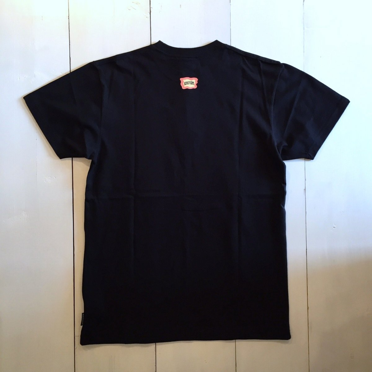 <img class='new_mark_img1' src='//img.shop-pro.jp/img/new/icons3.gif' style='border:none;display:inline;margin:0px;padding:0px;width:auto;' />ICE CREAM アイスクリーム / Tシャツ RIPPER T-SHIRTS 【BLACK】