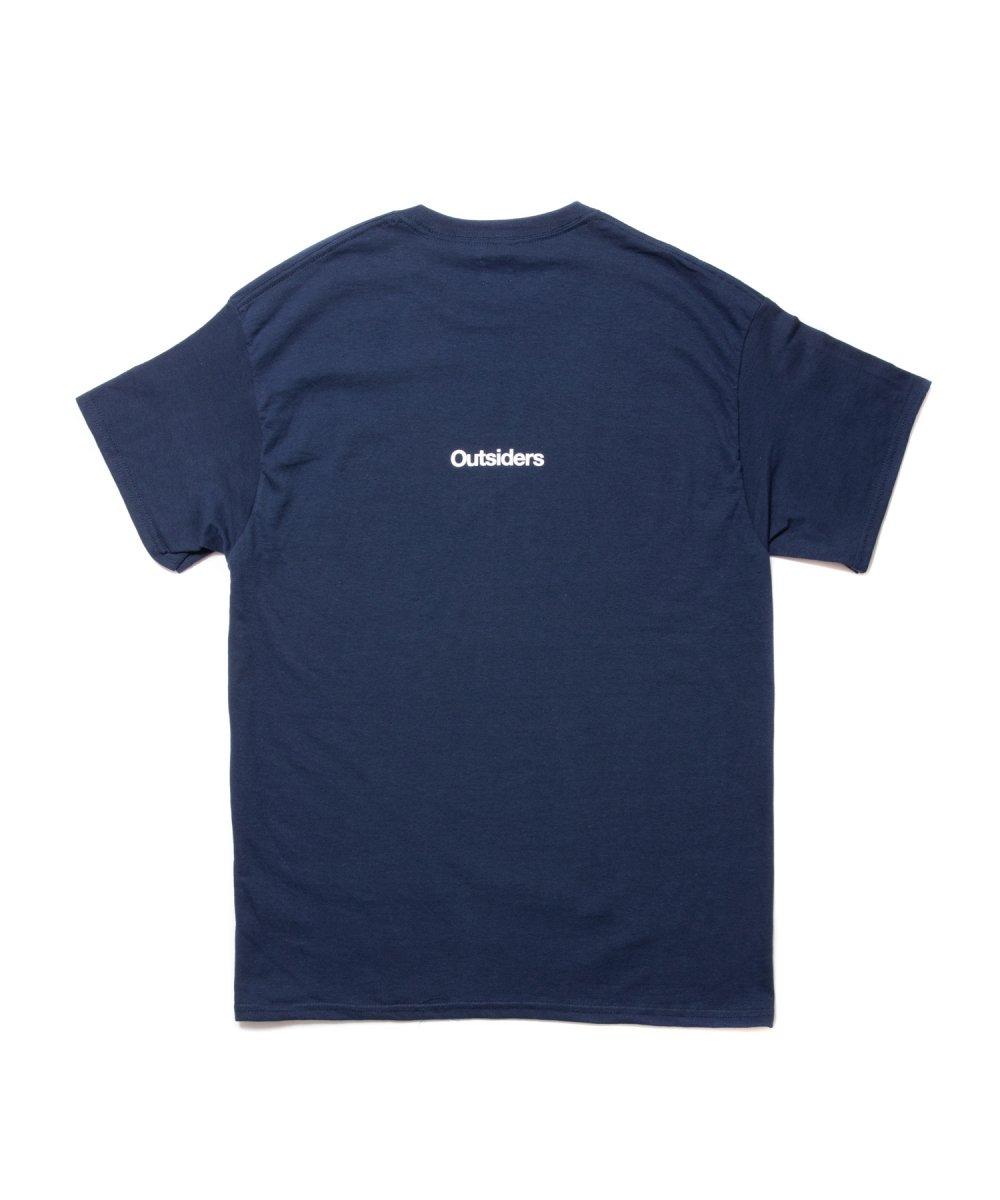 【7月下旬入荷予定】ROTTWEILER ロットワイラー / Tシャツ G.S.D TEE 【NAVY】