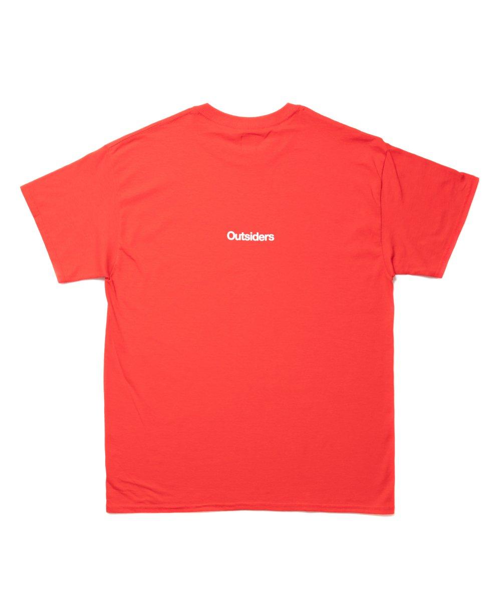 【7月下旬入荷予定】ROTTWEILER ロットワイラー / Tシャツ G.S.D TEE 【RED】