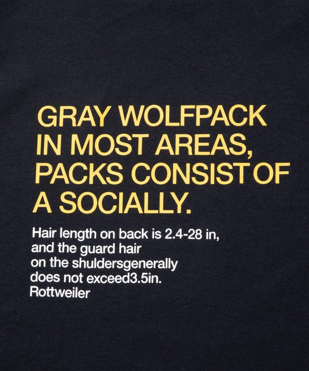 【8月下旬入荷予定】ROTTWEILER ロットワイラー / ロングTシャツ RW LS TEE 【BLACK】