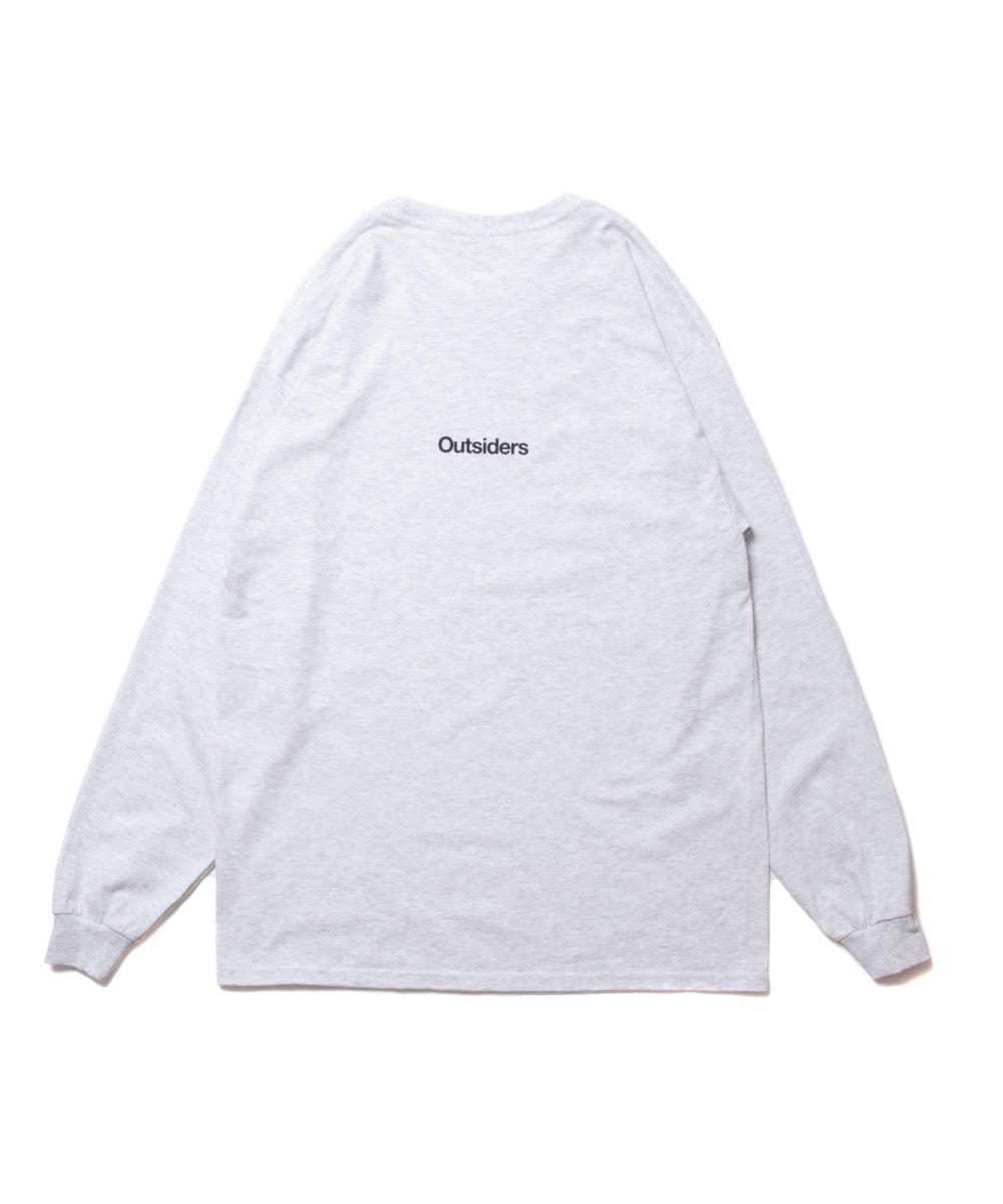 【9月下旬入荷予定】ROTTWEILER ロットワイラー / ロングTシャツ GSD LS TEE 【GRAY】