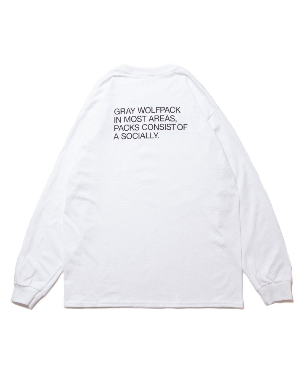 【8月下旬入荷予定】ROTTWEILER ロットワイラー / ロングTシャツ MILITARY LS TEE 【WHITE】