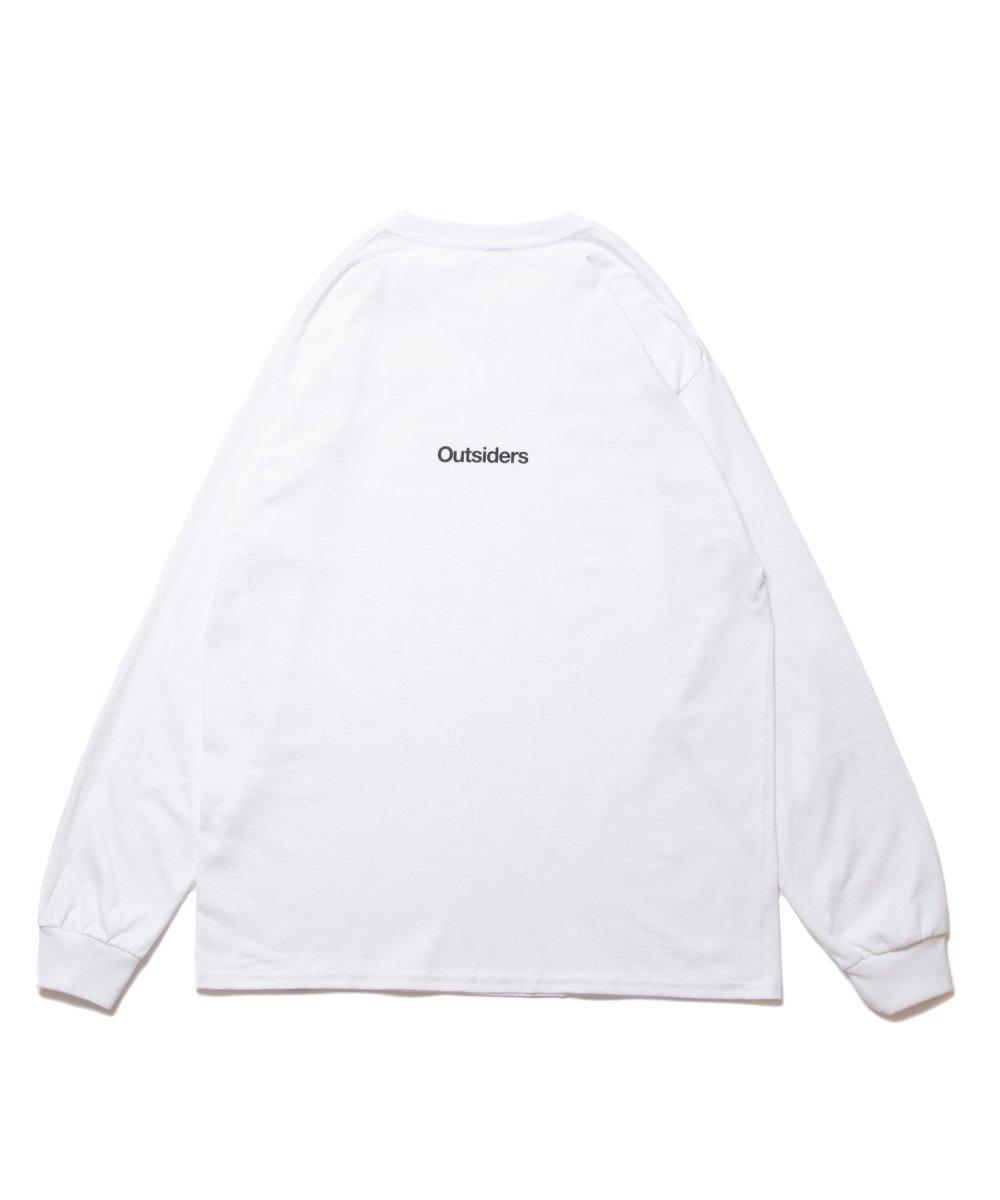 【8月下旬入荷予定】ROTTWEILER ロットワイラー / ロングTシャツ G.W.P LS TEE 【WHITE】