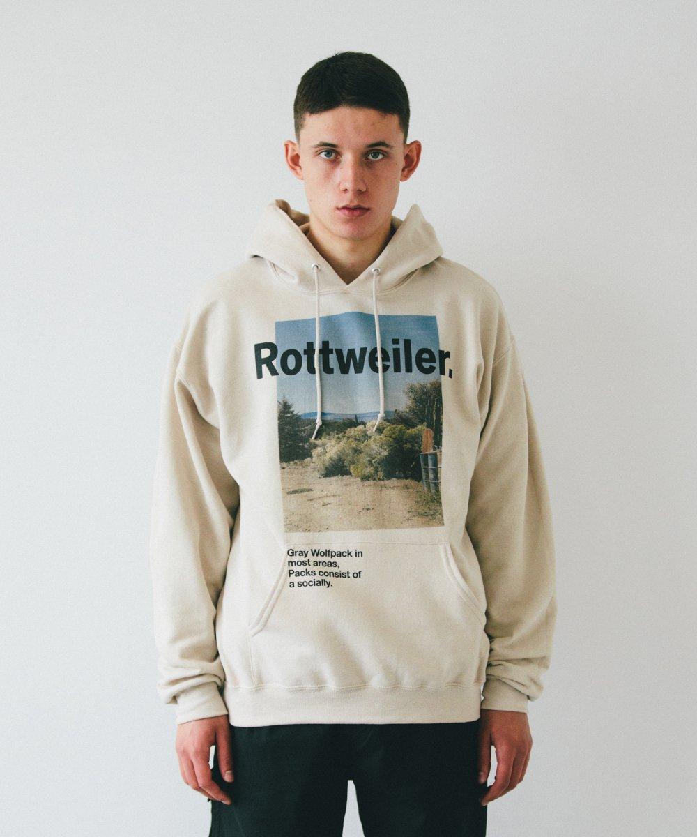 【9月下旬入荷予定】ROTTWEILER ロットワイラー / スウェット  DESERT PARKA 【BEIGE】