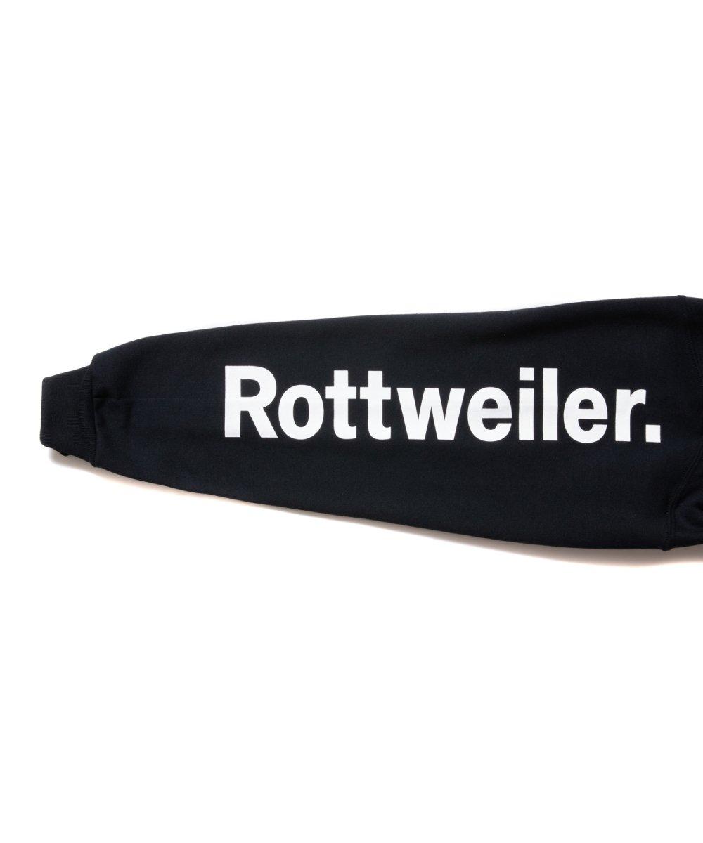 【9月下旬入荷予定】ROTTWEILER ロットワイラー / スウェット  FLOWER PHOTO PARKA 【BLACK】