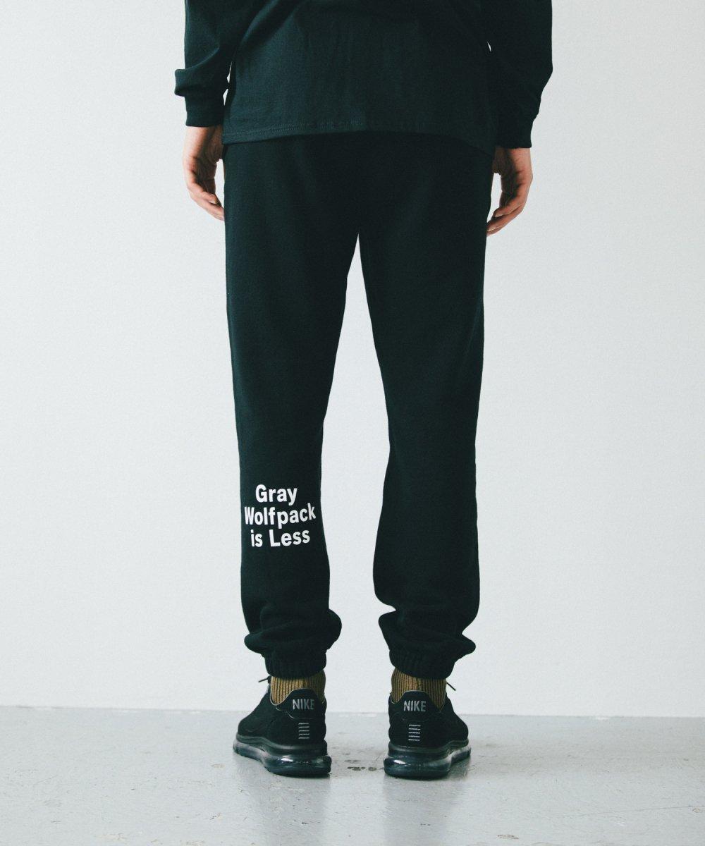 【9月下旬入荷予定】ROTTWEILER ロットワイラー / パンツ  G.W.P SWEAT PANTS 【BLACK】