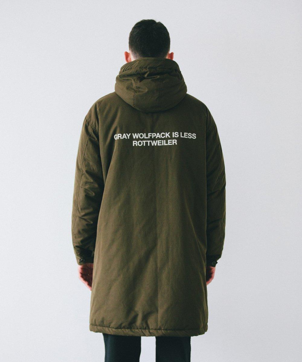 【10月下旬入荷予定】ROTTWEILER ロットワイラー /  コート MODS COAT 【OLIVE】