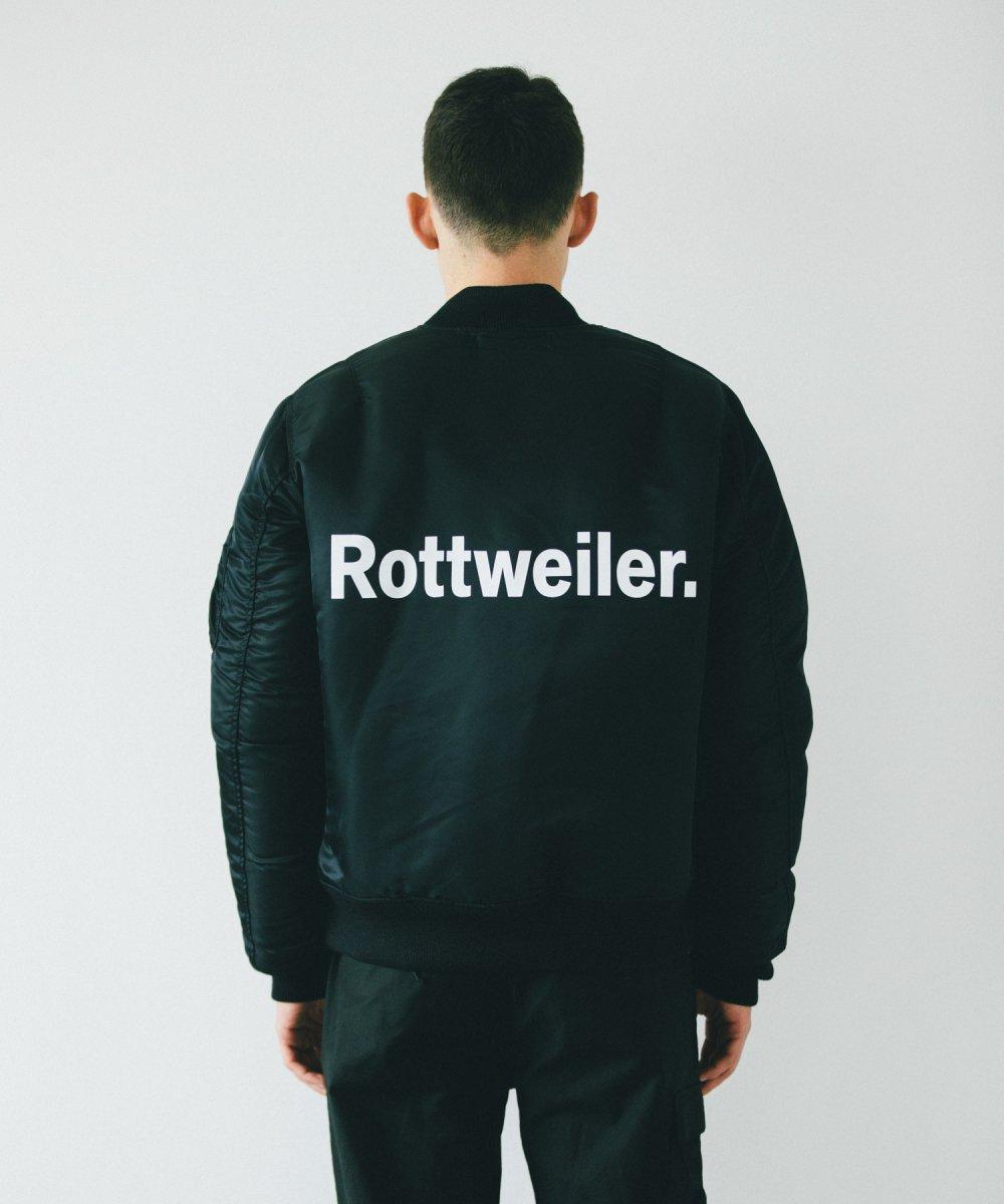 【10月下旬入荷予定】ROTTWEILER ロットワイラー /  ジャケット MA-1 【BLACK】