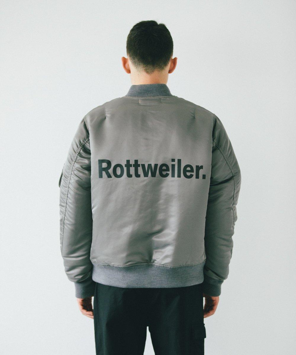 【10月下旬入荷予定】ROTTWEILER ロットワイラー /  ジャケット MA-1 【GRAY】