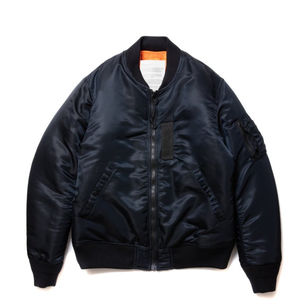 <img class='new_mark_img1' src='//img.shop-pro.jp/img/new/icons3.gif' style='border:none;display:inline;margin:0px;padding:0px;width:auto;' />ROTTWEILER ロットワイラー /  ジャケット MA-1 【BLACK】