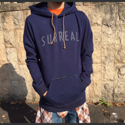 SURREAL×HOUSE 別注 パーカ /シュルリアル CLUB MUSIC AROUND SERIES FOODED PARKA